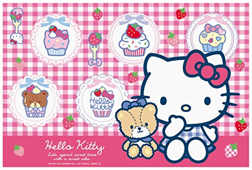 Leisure sheet S Hello Kitty cupcakes VS1