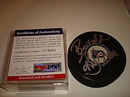 1d055cbbb Ron Hextall Signed Auto Philadelphia Flyers Hockey Puck PSA DNA Authentic