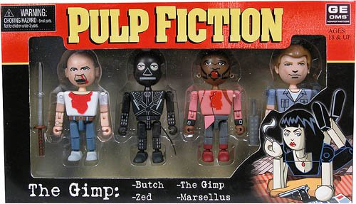 Pulp Fiction Geoms - The Gimp