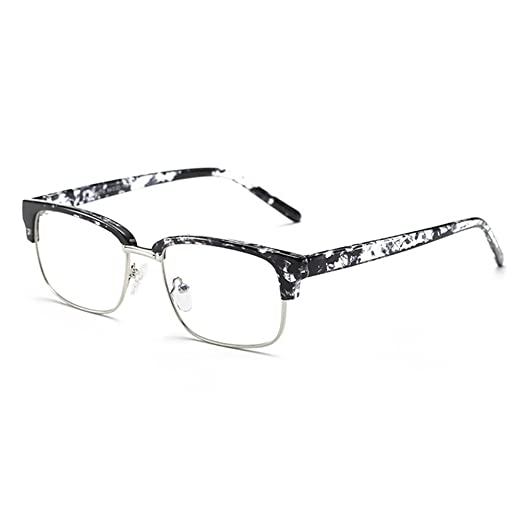 cfaa9f714a2 Image Unavailable. Image not available for. Color  Fuyingda Fashion square  frame glasses No ...
