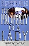 The Property of a Lady, Elizabeth A. Adler, 0440613795