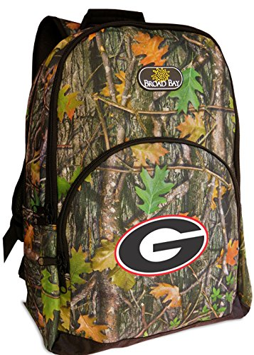 University of Georgia Backpacks Official CAMO Georgia Bulldogs Backpack by Broad Bay