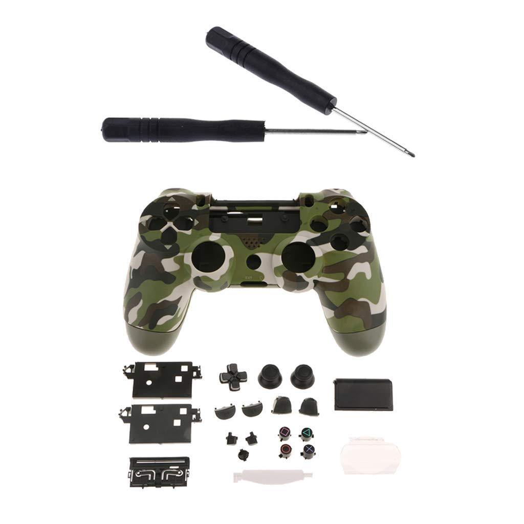 FLAMEER - Carcasa Protectora para Mando de Sony PS4 Pro ...