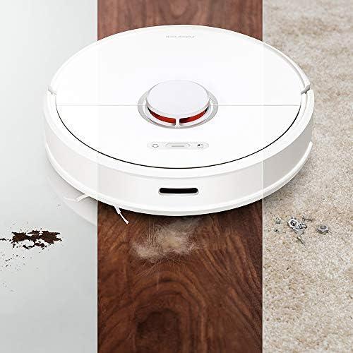 Aspirateur robot fonctionne Avec Google puissant Balayage automatique à domicile Stériliser la poussière Smart Planned Lavage