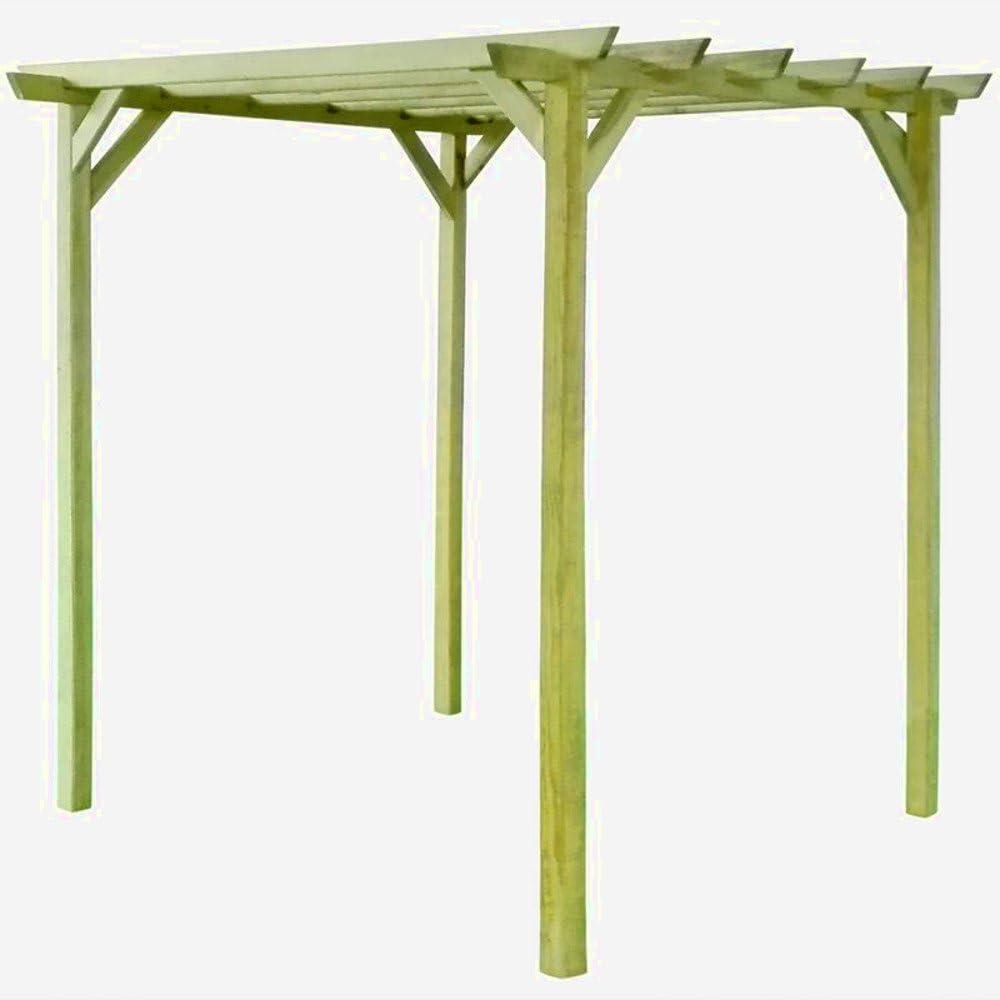 Pergola de madera Garden toldo Kit arco al aire libre 2 m cenador ...