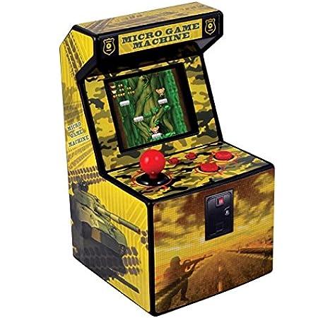 Amazon.es: ITAL Mini Recreativa Arcade (Amarillo) / Mini Consola portátil de diseño Retro con 250 Juegos / 16 bits / Máquina Perfecta como Regalo Friki para niños y Adultos