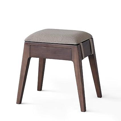 Prime Amazon Com Aidelai Bar Stool Chair Stool Solid Wood Bralicious Painted Fabric Chair Ideas Braliciousco
