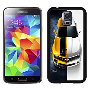 NEW DIY Unique Designed Samsung Galaxy S5 Phone Case For Yellow and White Chevrolet Camaro Phone Case Cover