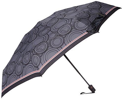 knirps-compact-auto-open-close-umbrella-black-white-whirls