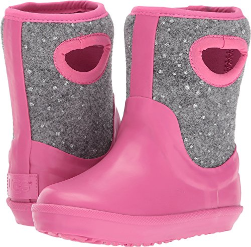 UGG Girls T Kex Sparkle Rain Boot, Pink Azalea, 8 M US Toddler for $<!--$44.99-->