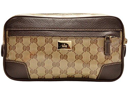 Gucci Canvas Belt (Gucci Belt Bag Fanny Pack Original GG Logo)