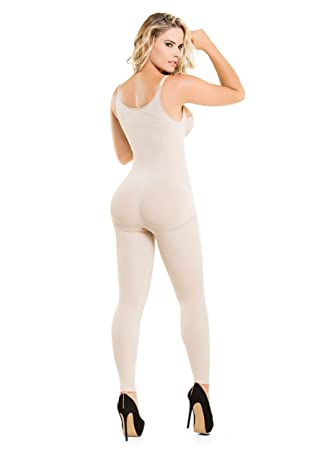 Amazon.com : Fajate CYSM 1586 - Enterizo térmico piernas firmes sin costuras / Seamless Targeted Compression Slimming Thermal Bodysuit : Sports & Outdoors