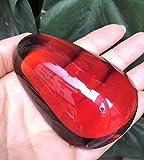 Myanmar Blood Serum Tea Black Tea Necklace Pendant Large Egg Noodles Amber Necklace