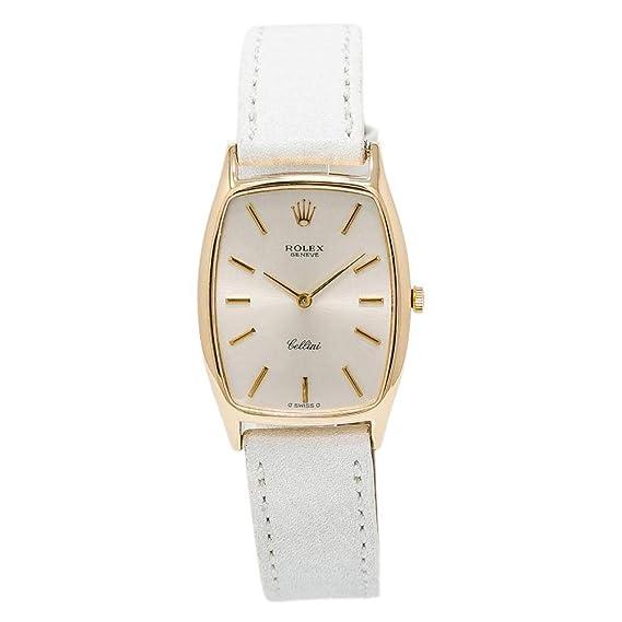 Rolex Cellini mechanical-hand-wind Mens Reloj (Certificado) de segunda mano: Rolex: Amazon.es: Relojes