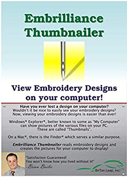 EmbrillianceThumbnailer Embroidery Software