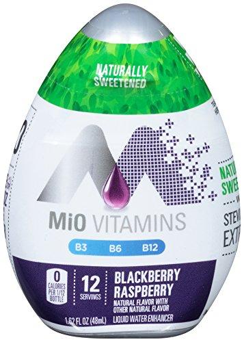 MIO Liquid Concentrate, Blackberry Raspberry, 1.62 oz (Blackberries Raspberries)