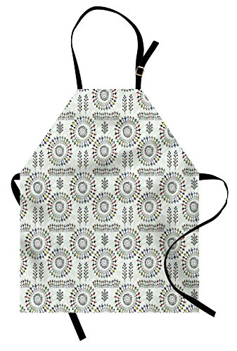 Different Image Of Folk Dance Costumes - Ambesonne African Apron, Old Art with