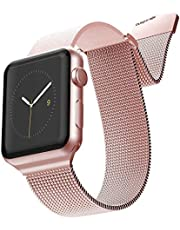 X-Doria Mesh Band for Apple watch 42mm/44mm-Rose Gold