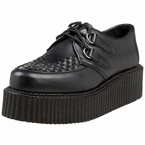 Demonia Men's Creeper402 Sneakers,Black,13 M
