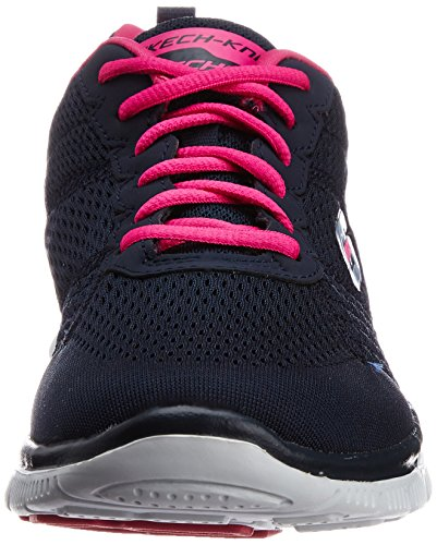 Mujer Choice Flex Obvious Azul Zapatos Skechers Appeal para Nvpk wUfnq6