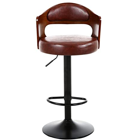 Enjoyable Amazon Com Fenping Bar Stool Retro Iron Rotating Bar Stool Squirreltailoven Fun Painted Chair Ideas Images Squirreltailovenorg