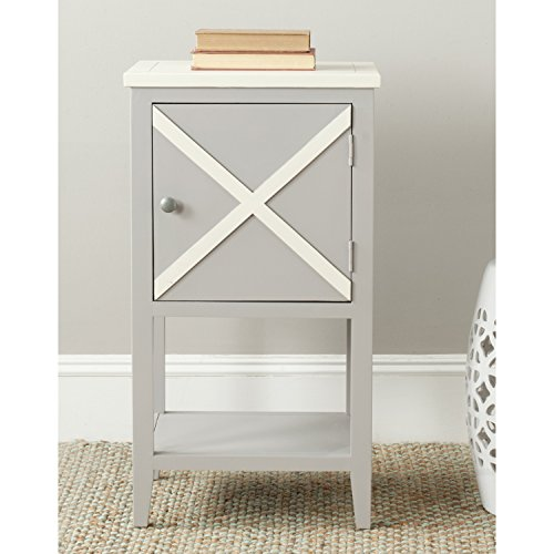 Safavieh American Homes Collection Ward Side Table, Grey
