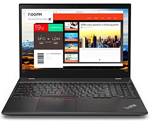 "LA 15.6"" ThinkPad T580 Touchscreen LCD Notebook Intel Core i7 (8th Gen) i7-8650U Quad-core (4 Core) 1.9GHz 32GB DDR4 SDRAM 2TB Samsung EVO 970 M.2 PCIe NVMe SSD Windows 10 Pro 64-bit Graphite Black"