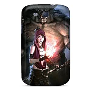 Galaxy Covers Cases - Dragon Age Origins Morrigan Monster Protective Cases Compatibel With Galaxy S3