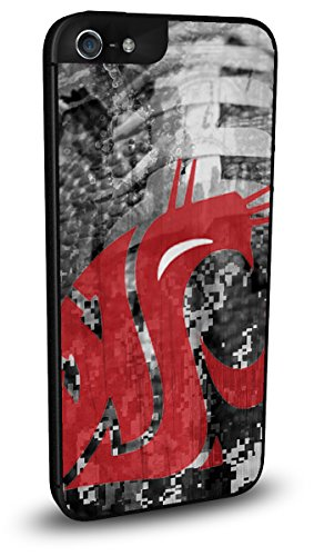 Washington State Cougars Cell Phone Hard Case iPhone ()