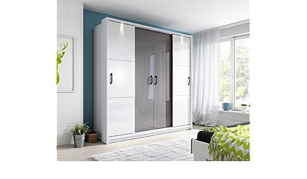 Marca nilight dormitorio espejo 4 puerta corredera armario Arti 13 ...