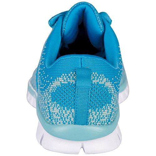 Kappa Damen Caria Sneakers Türkis Tuerkis/Mint) (6637 Tuerkis/Mint) Türkis 7e4946