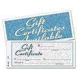 ABFGFTC1 - Gift Certificates w/Envelopes