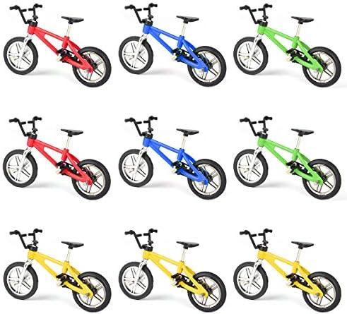 [해외]Hotusi 9pcs Mini Finger Bikes Mini Extreme Sports Finger Bicycle Toy Creative Game Toy Cool Boy Gifts(Random Colors) / Hotusi 9pcs Mini Finger Bikes Mini Extreme Sports Finger Bicycle Toy Creative Game Toy Cool Boy Gifts(Random Col...