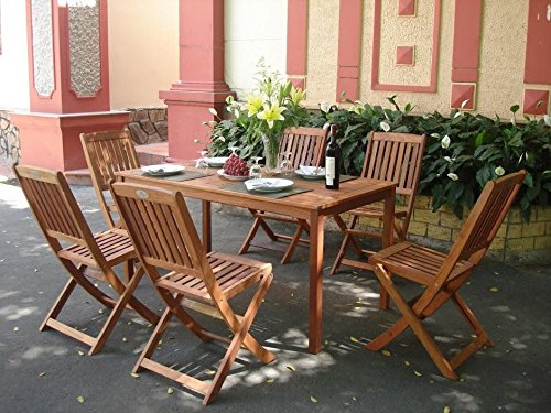 7 Piece Shorea Wood - 1