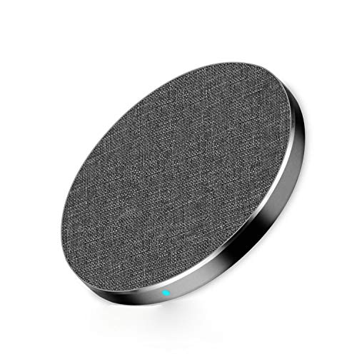 Wireless Charger, ANSERX Qi-Certified Wireless Charging Pad 7.5W Compatible with iPhone Xs MAX/XR/XS/X/8/8 Plus, 10W Fast Charging Galaxy S9/S9+/S8/S8+/Note 9
