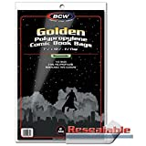 BCW 1-GOL-R Resealable Golden Comic Bags