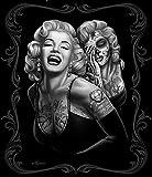 JP Imports Marilyn Monroe Smile Now' 50''X60'' Throw Blanket