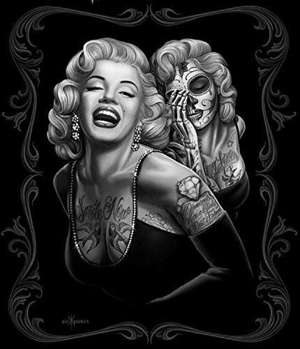 "Price comparison product image JP Imports Marilyn Monroe ""Smile Now' 50""X60"" Throw Blanket"