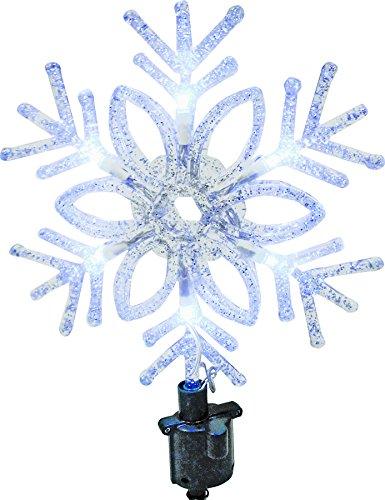 HOLIDAY BASIX 57107 11'' Snowflake Christmas Tree Top by Holiday Basix