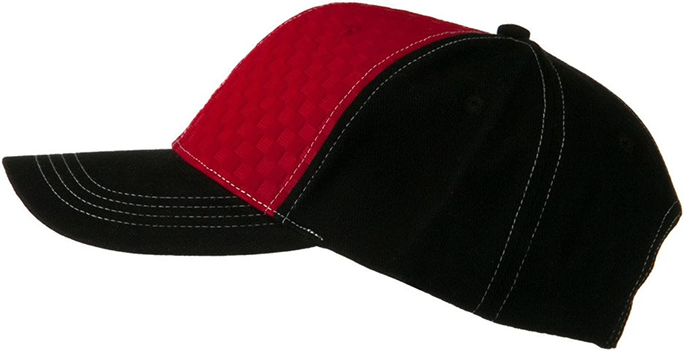 Hipster Two Tone Ball Cap - Red Black OSFM at Amazon Men s Clothing ... 05c81fe3cef5