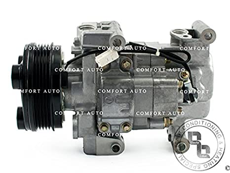 Marca nuevo Compresor AC con embrague (04 - 09 Mazda 3 06 - 10 Mazda 5 2.0L 2,3l Non Turbo: Amazon.es: Coche y moto