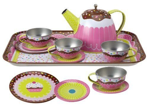 Kitchen Set Pretend Play Alex Yummy Tin Tea Childrens Kids New Gift Toy Game by Unbranded*