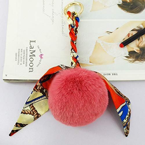 Toothless Keychain - Fashion Pompon Ball Key Pendant Keyring Ornament Decor Gifts Friends - Color 4