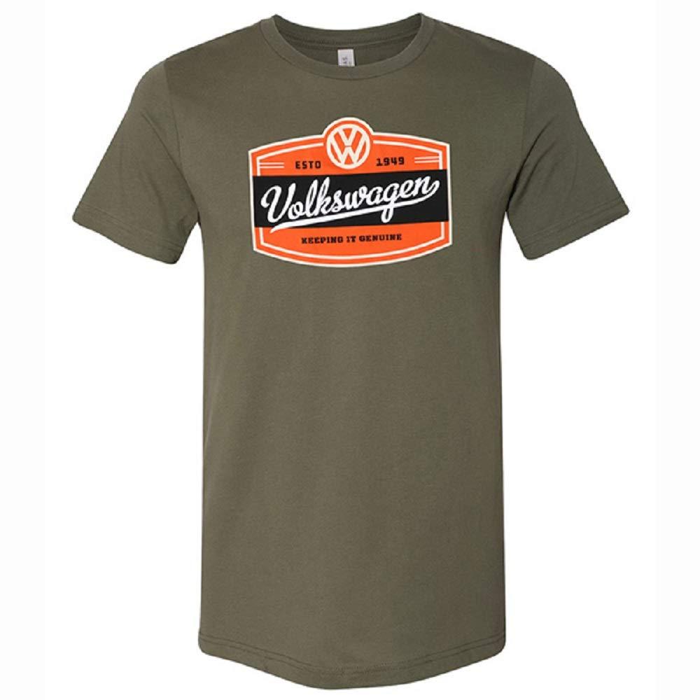 Volkswagen Genuine T-Shirt (Medium) Green by Volkswagen Driver Gear