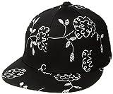 A|X Armani Exchange Women's Floral Doodle Cap, Vintage Flower Black, One Size