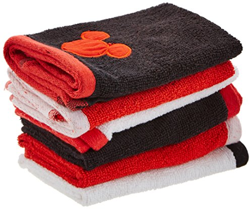 (Disney Mickey Mouse Decorative Bath Collection - 6 pack Washcloth)