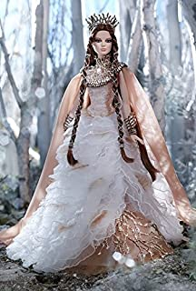 57a1828e25349 Barbie Faraway Forest Collection - Lady of the White Woods - GOLD LABEL  Direct Exclusive!