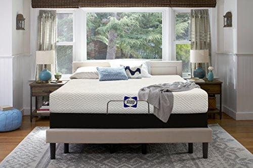 Sealy,8-Inch,Mattress in a Box, Adaptive Comfort Layers, Medium-Firm Feel,Memory Foam Mattress,Twin