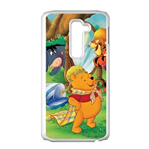 LG G2 Phone Case Cartoon Many Adventures of Winnie the Pooh Protective Cell Phone Cases Cover DFJ105652