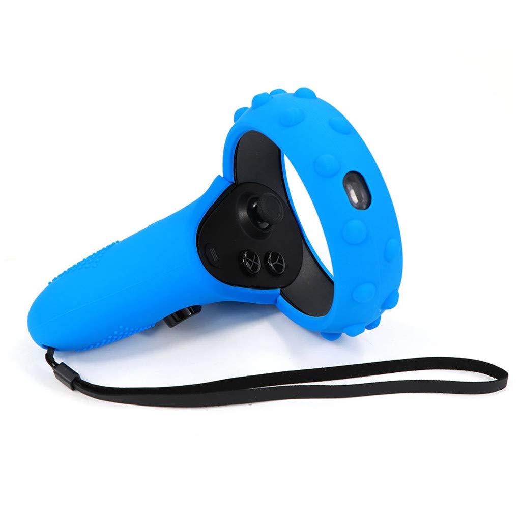 Noir /Étui en silicone Pochette de protection anti-poussi/èrepour Oculus Quest pour Oculus Rift S VR by Fulltime